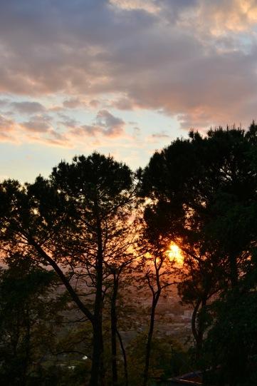 Sunset in Tivoli